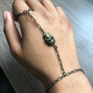 Jewelry - Skull Hand Bracelet